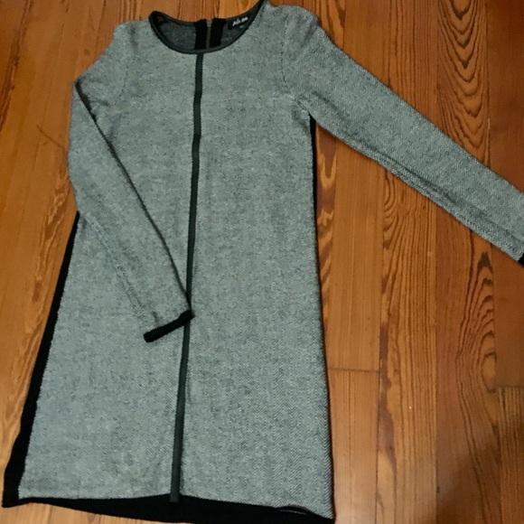 048a7cdb753 Belle Vere Dresses   Skirts - Belle Vere Black   White Long Sleeve Sweater  Dress